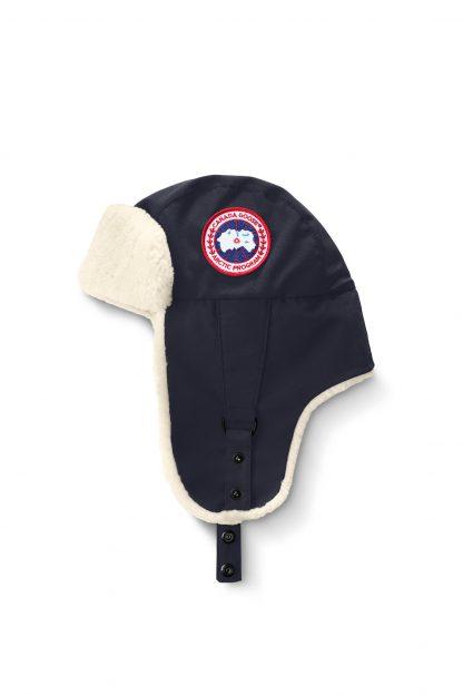Loudon Navy Canada Goose Hats Shearling Aviator Hat Canada