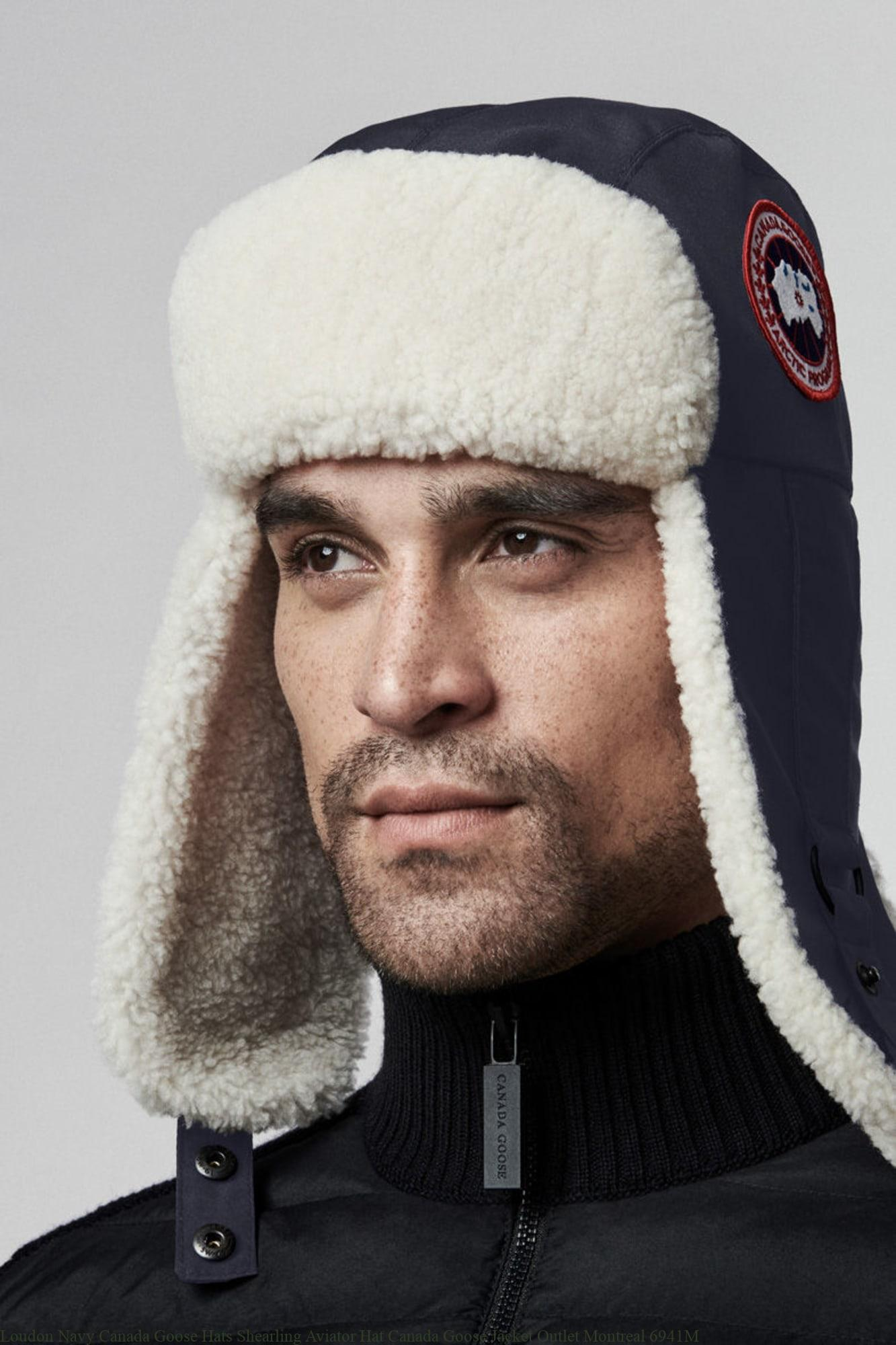 Loudon Navy Canada Goose Hats Shearling Aviator Hat Canada Goose Jacket  Outlet Montreal 6941M – Canada Goose Outlet Online – Cheap Canada Goose Sale f2c8e244ccc4