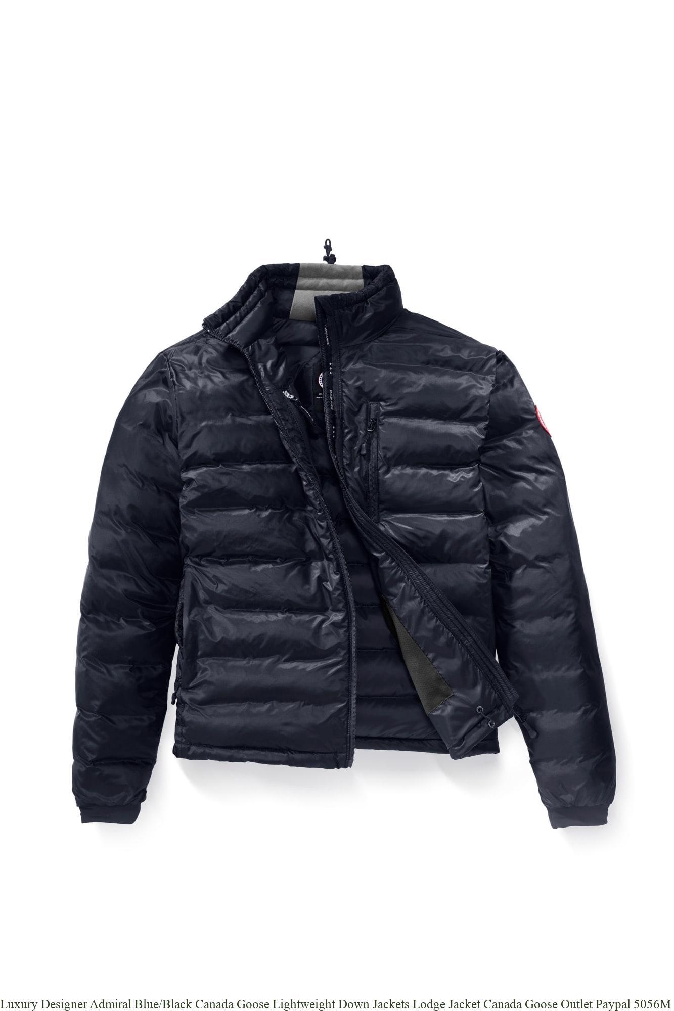 Luxury Designer Admiral Blue Black Canada Goose